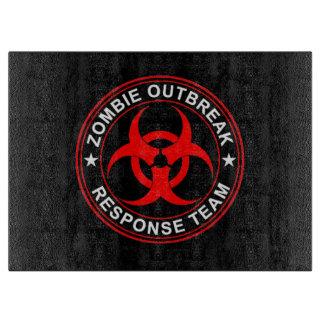 Zombie Outbreak Response Cutting Board walkers