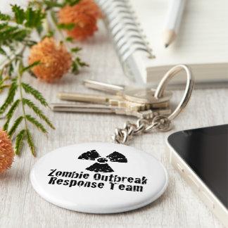 Zombie Outbreak Response Key Ring