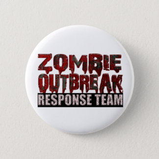 Zombie Outbreak Response Team 6 Cm Round Badge