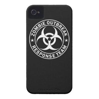 zombie outbreak response team bio hazard walking d Case-Mate iPhone 4 case