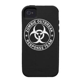 zombie outbreak response team bio hazard walking d iPhone 4/4S cover