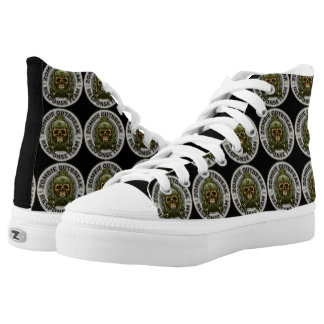 Zombie Outbreak Response Team High Tops