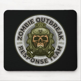 Zombie Outbreak Response Team Mouse Pad