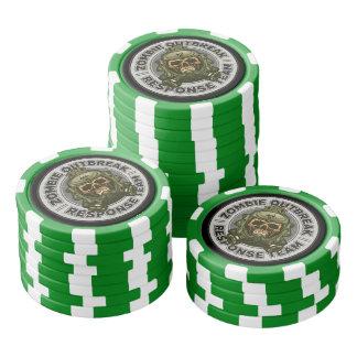Zombie Outbreak Response Team Poker Chips