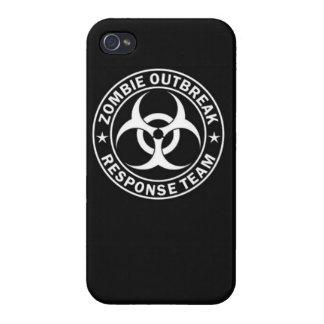 Zombie outbreak response team zombie dead undead c iPhone 4 covers