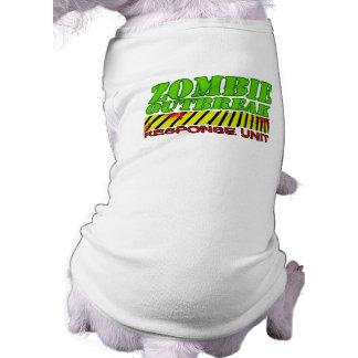 Zombie outbreak response unit shirt