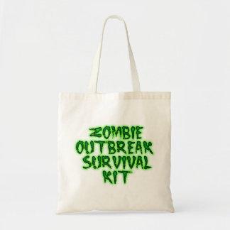 zombie outbreak survival kit tote