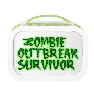 Zombie Outbreak Survivor lunch box