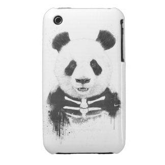Zombie panda iPhone 3 Case-Mate cases