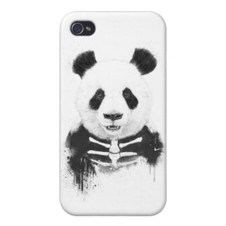 Zombie panda case for iPhone 4