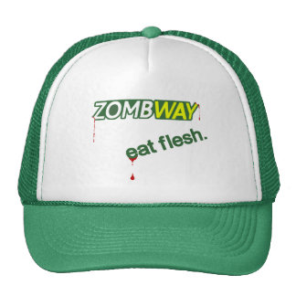 Zombie Parody Funny Trucker Hat