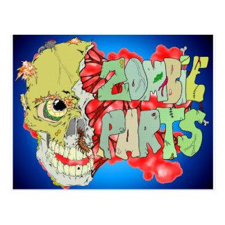 Zombie Parts Postcard