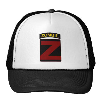 Zombie Patch and Tab Cap