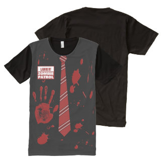 Zombie Patrol Customizable All-Over Print T-Shirt