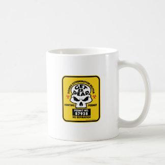 ZOMBIE-PERMIT COFFEE MUG