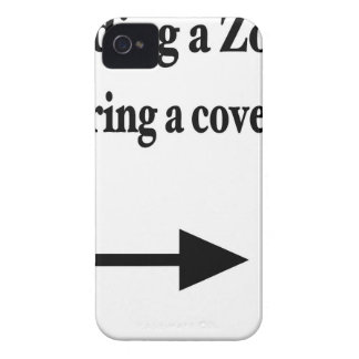 ZOMBIE PICNIC iPhone 4 Case-Mate CASES