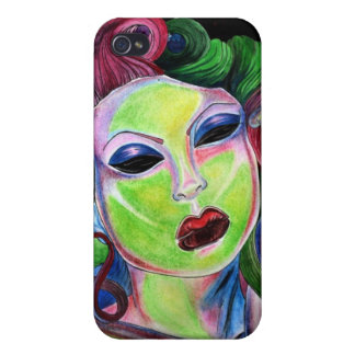 zombie pin up iPhone 4 cover