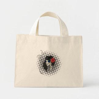 Zombie Pin up Mini Tote Bag