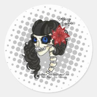 Zombie Pin UP sticker
