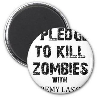 Zombie Pledge Merch Magnet