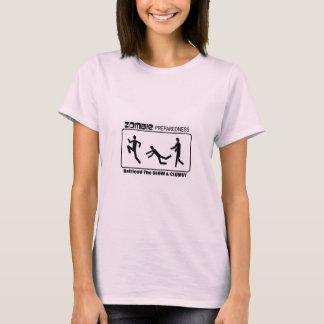 Zombie Preparedness Befriend Slow ALL COLOR Design T-Shirt