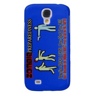 Zombie Preparedness Head Shot Design Galaxy S4 Cover