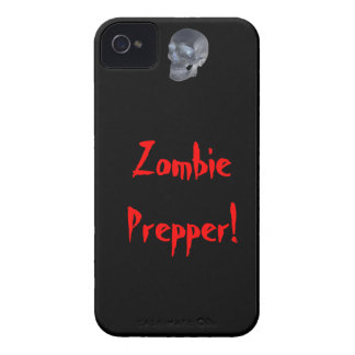 Zombie prepper s phone Case-Mate iPhone 4 case