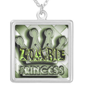 Zombie Princess Goth Necklace