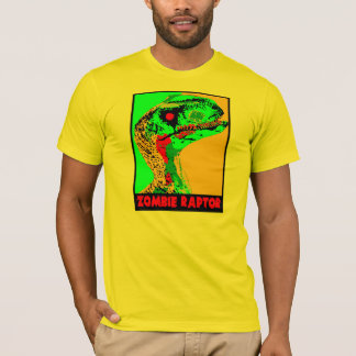 Zombie Raptor - Men's T-Shirt
