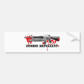 Zombie Repellent Bumper Sticker