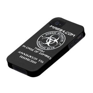 ZOMBIE RESPONSE TEAM iPhone Case FLR iPhone 4 Case