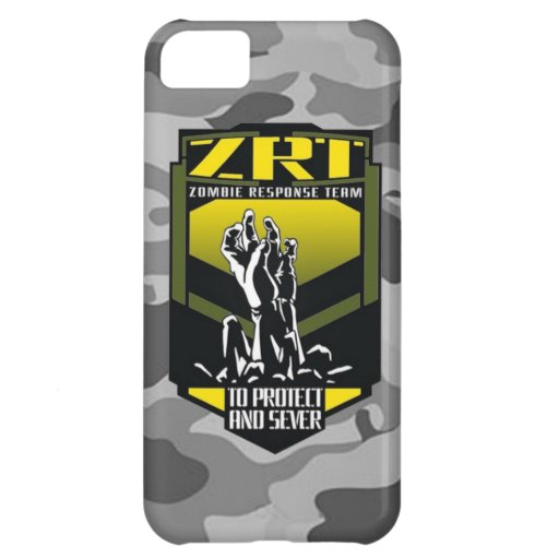 Zombie response team keep calm and kill zombies iPhone 5C covers