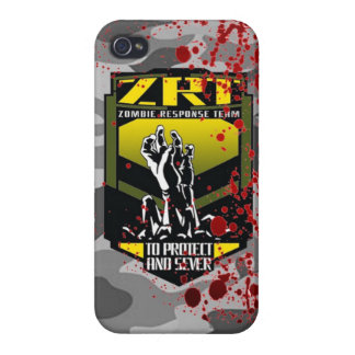 Zombie response team keep calm and kill zombies cover for iPhone 4