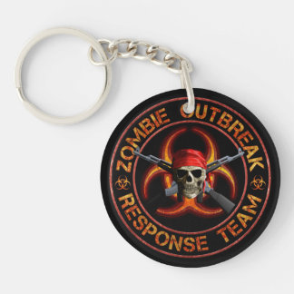 Zombie Response Team Key Ring