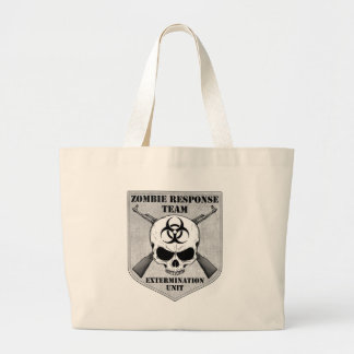 Zombie Response Team Large Tote Bag