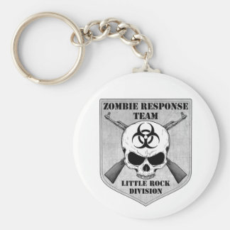 Zombie Response Team: Little Rock Division Basic Round Button Key Ring