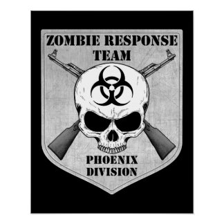 Zombie Response Team: Phoenix Division Posters
