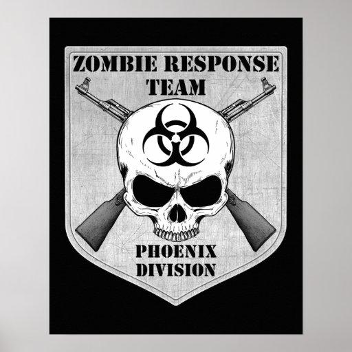 Zombie Response Team: Phoenix Division Posters