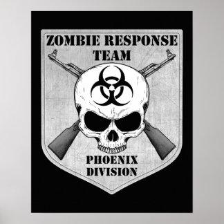 Zombie Response Team Phoenix Division Posters