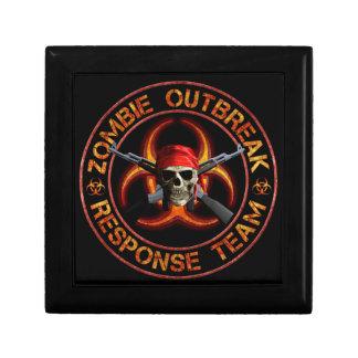 Zombie Response Team Small Square Gift Box