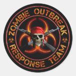 Zombie Response Team Stickers