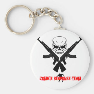 Zombie Response Team Zombie Gift Key Chains