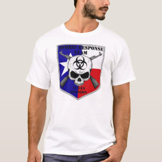 ZOMBIE RESPONSE TEXAS DIVISION T-Shirt