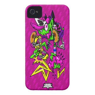 Zombie Rider iPhone 4 Case-Mate Cases
