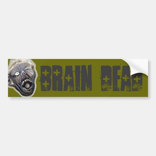 Zombie Rising Bumper Stickers