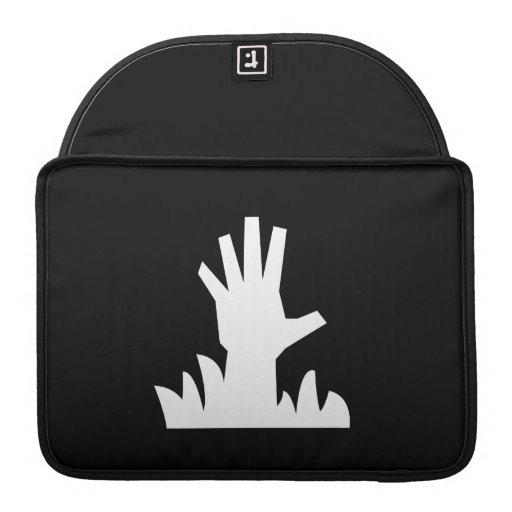 Zombie Rising Pictogram MacBook Pro Sleeve