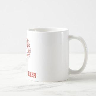 Zombie Rocker - Rock-N-Roll Basic White Mug