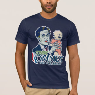 Zombie Romney For President Shirt