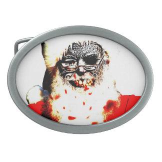 Zombie Santa Belt Buckle