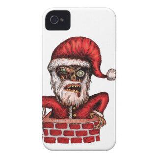 Zombie Santa iPhone 4 Covers